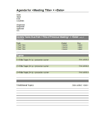 40 Effective Meeting Agenda Templates Template Lab Interesting Meetings Template