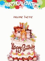 Write Your Name On Gif Cake With Name Namegifcom