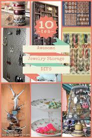 10 awesome jewelry organizer diy s bohoberry com