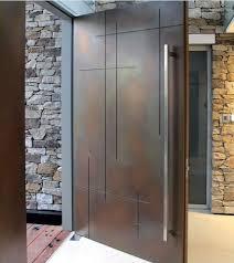 modern single front door designs photo 11