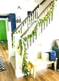 stairway decoration decorations elegant winter staircase ideas banister decorating wedding