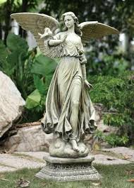 angel garden statues. Angel Statues For Garden On Pedestal Statue Ornaments Canada . M