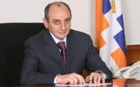 Bako Sahakyan congratulates Armenian counterpart on Independence Day