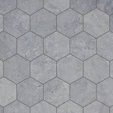 image of ocean hexagon floor tile