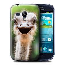 Emu Design Stuff4 Phone Case Cover For Samsung Galaxy S3 Mini Ostrich Emu Design Wildlife Animals Collection