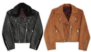 all 67 s black leather and tan suede motos