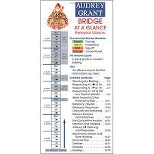 Basics At A Glance Chart Bridge At A Glance Audrey Grant 0884551673131 Amazon Com