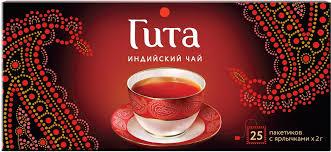 Принцесса Гита Индия <b>черный чай</b> в пакетиках, 25 шт — купить в ...