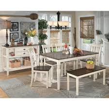 dining chairs and benches. dining room sets with a bench splendid whitesburg set w signature design by ashley 6 chairs and benches