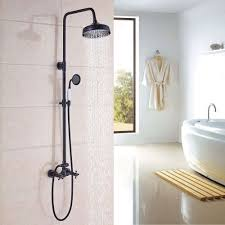 handheld shower head for bathtub faucet unique shower faucet set 8 inch rain shower head shower