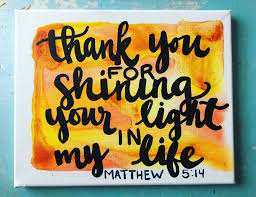Teacher Appreciation Week Gift Watercolor Canvas Painting With