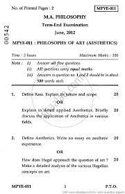 philosophy of art aesthetics social work philosophy of art aesthetics 2012 social work philosophy ma university