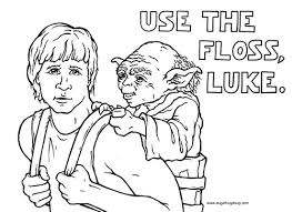 Get your kid to color these dental coloring pages printable. Star Wars Colouring Pages Smile Town Childrens Dentist Burnaby