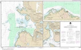 Southeast Alaska Chart 17435 Harbors In Clarence Strait Port Chester Annette Island Tamgas Harbor Annette Island Metlakatla Harbor Alaska Nautical Chart