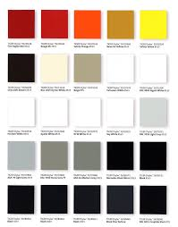Victoria Powder Coating Ltd Interior Colors