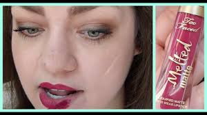 <b>Too Faced Melted</b> Matte Liquified Lipstick: First Impression + Review ...