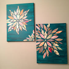 painting on paper ideas wall art made from canvas acrylic paint and s paper sealed arts
