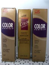 Wella Color Perfect Hair Color Chart Wella Color Perfect Permanent Haircolor Series 1 5 Your