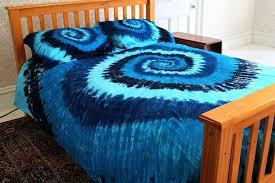 tie dye bedspread sets