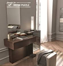 brown modern dressing table, mirrored dressing table designs