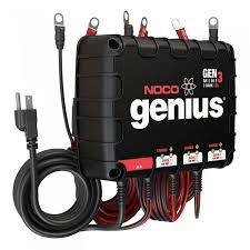 NOCO - 3-Bank 12A On-Board Battery Charger - GENM3