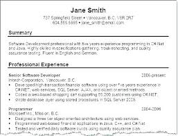 Great Example Resumes Best Example For A Resume Great Example Resume Examples Resumes Of A Good