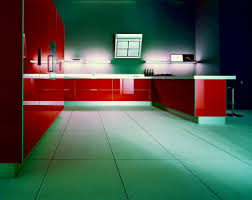 kitchen cabinet lighting led. Accessories Kitchen | : Red Gloss Acrylic L Shape Cabinet With Wall Mounted Shelves For Lighting Led