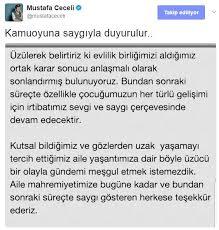 Mustafa Ceceli ve Sinem Ceceli boşandı