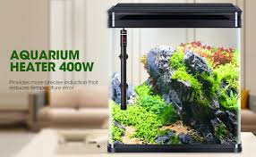Amazon.com: POPETPOP [Upgraded 400W Aquarium Heater - Submersible Titanium  Fish Tank Heaters with Intelligent LED Temperature Display: Home & Kitchen