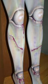 ball joint tights. walking dead zombie doll ball joint tights custom made for you on etsy, sold