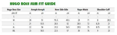 Hugo Boss Shirt Size Chart Uk Www Azuria Beauty De