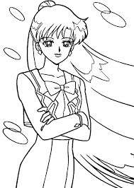 Small Picture Sailor Mars Coloring Page Cute pages of KidsColoringPageorg