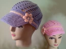 Crochet Patterns Hats Gorgeous How to crochet a hat peak free crochet pattern tutorial YouTube