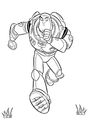 Buzz Lightyear From Toy Story Coloring