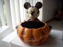 halloween candy bowl ceramic. Contemporary Candy Disney Large Mickey Mouse Halloween Ceramic Candy Dish NEW Inside Bowl I