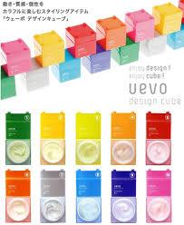 Uevo Design Cube Hair Styling Wax Uevo Design Cube Wax Series 80g Please Type Choice Brand New