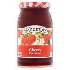 Kitchen Garden Preserves Smuckers Cherry Preserves 18 Oz Walmartcom