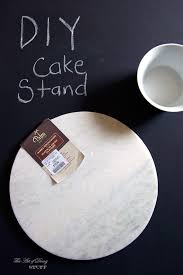 easy beautiful diy cake stand