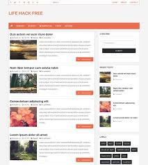 100 Free Responsive Blogger Templates 2018 Page 3 Of 3