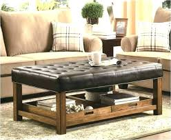 rustic ottoman coffee table rustic ottoman coffee table beautiful tables mahogany round brown leather full size rustic ottoman