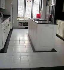Simple Kitchen Tiles Floor Design Ideas Tile Flooring Designs White Clean With And Concept