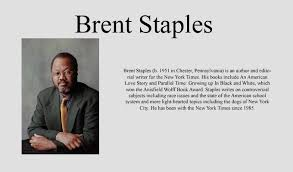 sample college black men and public space essay in this essay brent staples used several rhetorical strategies brent staples essays st literature matter how much truth about murder a brother s