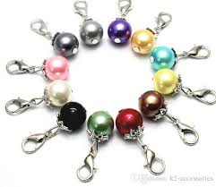 new fashion mix colors pearl beads lobster clasps charms pendant for diy bracelet necklace jewelry making uk 2019 from k2 accessories uk 0 51 dhgate uk