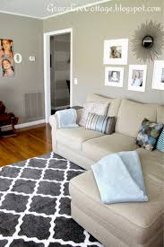 Paint Color Combinations For Small Living Rooms Grace Lee Cottage Our First Home Living Family Room Pinterest