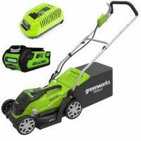 <b>Газонокосилка аккумуляторная Greenworks G-MAX</b> 40V ...