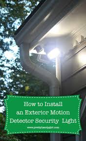 How To Install A Security Light From Scratch How To Install An Exterior Motion Sensor Light