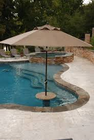 The Pool Guy LA natural designed inground swimming pool photos. some of  Lafayette, La natural swimming pool and spa photos.
