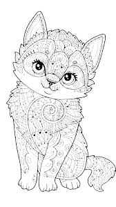 Kitten Coloring Page Printable Kitten Coloring Pages Kittens Page