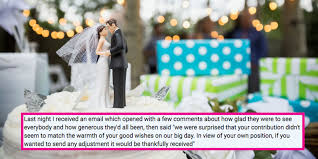 Please Help This Woman Decide How to Respond to a Bride\u0027s Absurdly ...