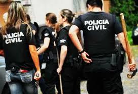 Resultado de imagem para policia civil predendo